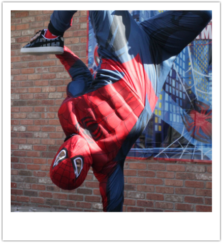Breakdancing Spiderman